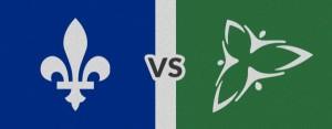 Quebec vs. Ontario